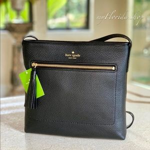 NWT❗️ Kate Spade Dessi Crossbody Bag in Black